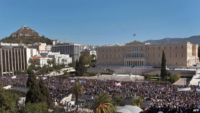 Очередная акция исламистов в Греции закончилась беспорядками