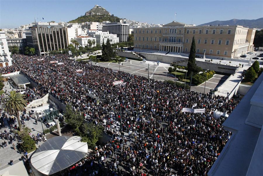 В Греции участие в забастовке приняли налоговики