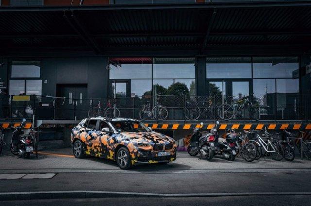 Кроссовер BMW X2 впервые «засветился» на фото