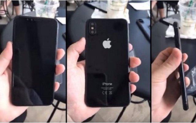 iPhone 8 показали на
