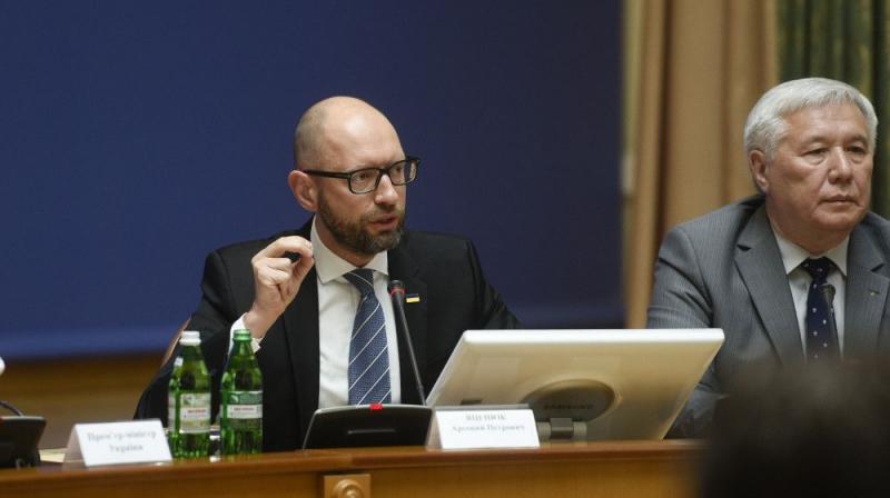 Яценюк: Санкции США – решительный шаг для привлечения России к ответственности