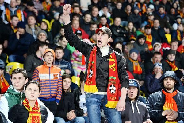 На матче тульского «Арсенала» и московского «Динамо» ждут более 10 тысяч зрителей
