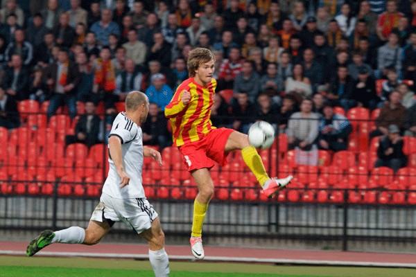 Павел Сергеев: Первую неделю в тульском «Арсенале» мне было очень трудно