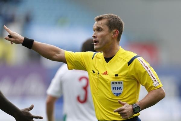 Матч «Уфы» и тульского «Арсенала» отсудит Владислав Безбородов