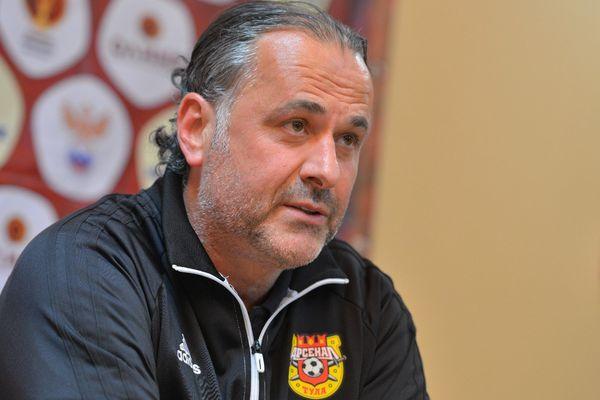 Миодраг Божович: «Арсенал» очень плохо сыграл с «Тамбовом», хочу извиниться перед болельщиками