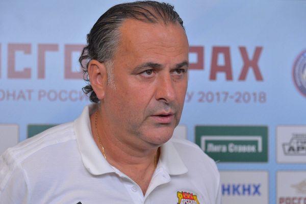 Миодраг Божович: В концовке рассчитывал на тех, кто хорошо играет на втором этаже