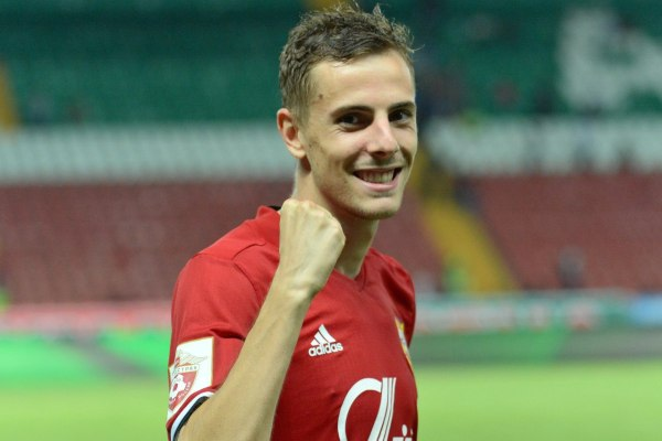 Тульский «Арсенал» выигрывает у «Краснодара» после первого тайма