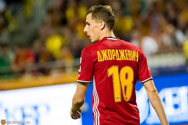 Лука Джорджевич: Ребята, которые меньше играли, провели матч с «Краснодаром» очень хорошо