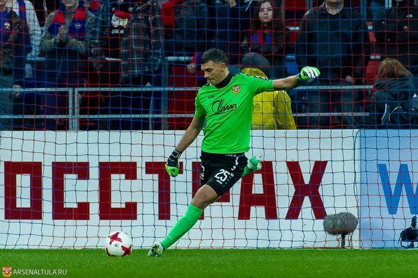 Владимир Габулов: Зимой было два варианта— с «Арсеналом» и ещё одним клубом
