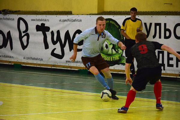 «МехМаш» забил 16 мячей «Авроре» и другие результаты 4-го тура чемпионата Тулы