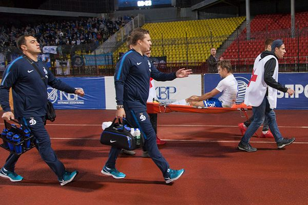 Кирилл Панченко выбыл на полгода после травмы в матче с тульским «Арсеналом»
