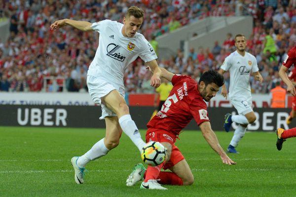 Тульский «Арсенал» сыграет с «Тамбовом» в белой форме