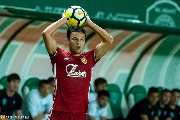 Сергей Ткачёв— лучший игрок тульского «Арсенала» по итогам 10 туров