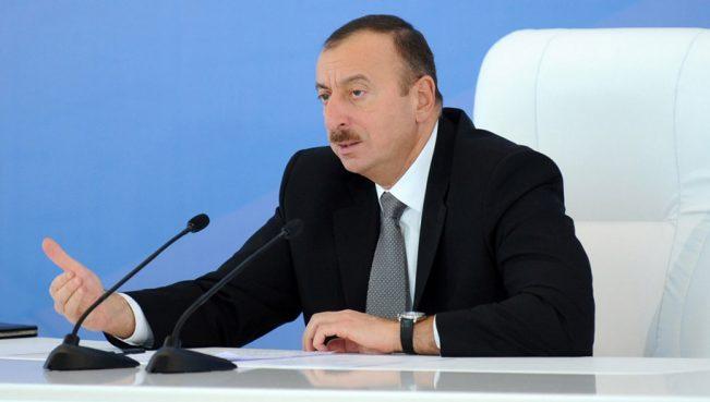 Ильхам Алиев отреагировал на арест журналиста Мехмана Алиева