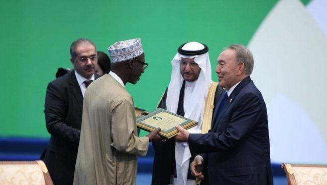 В Астане наградили лучших ученых исламского мира — ФОТО