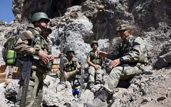 ВС Турции уничтожили свыше 50 террористов