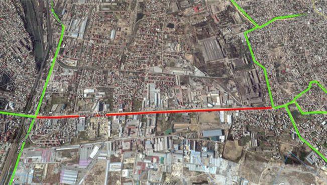 Закрывается одна из основных магистралей Баку