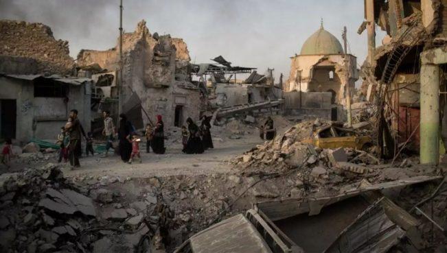 Из-под руин зданий в Мосуле извлечены тела 2650 погибших