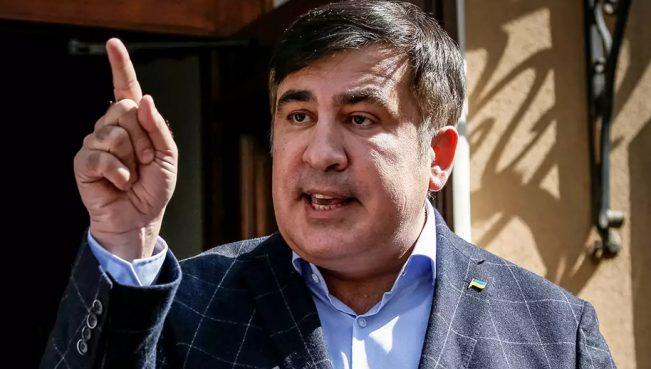 Саакашвили: Украденный паспорт находится у Порошенко