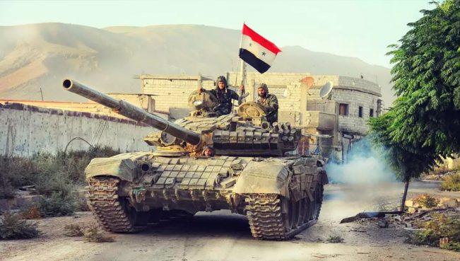 Сирийская армия отбила у боевиков 85% территории
