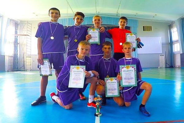 В Заокском районе разыграли этап проекта «Мини-футбол— в школу»