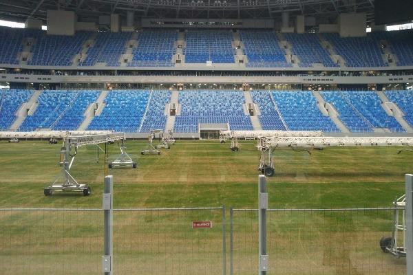 В Санкт-Петербурге к матчу с тульским «Арсеналом» восстановят газон