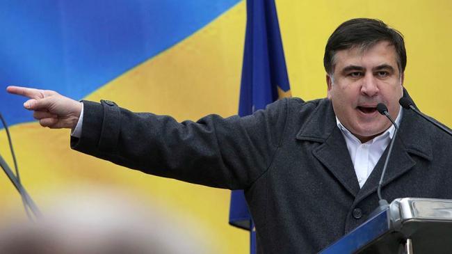 Митинг в Киеве: Саакашвили призвал Порошенко уйти добровольно