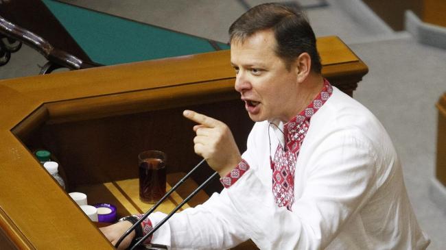 Хаос в столице: Ляшко потребовал выслать Саакашвили из Украины