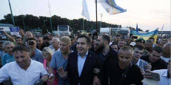 Олег Ляшко сравнил Саакашвили с «торпедой Кремля»