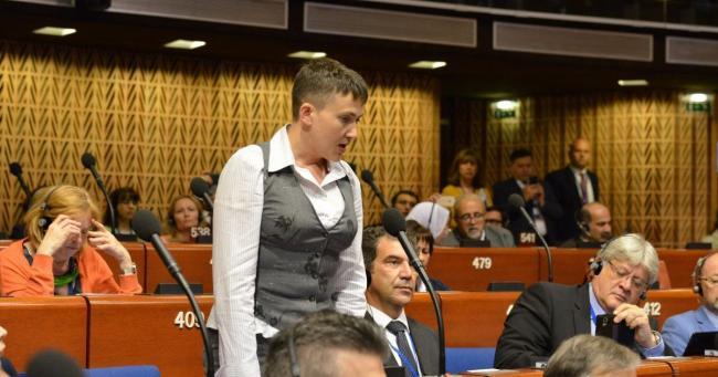 Савченко: Из-за событий под Радой нардепы вывезли свои семьи за границу