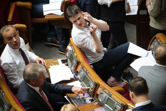Надежда Савченко предложила неожиданного кандидата на должность президента Украины