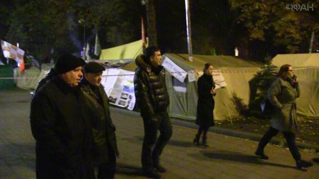 Михаил Саакашвили будет проводить «вече» каждый день до 7 ноября