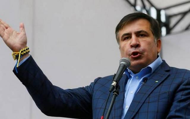 Михаил Саакашвили призвал провести в Украине досрочные выборы