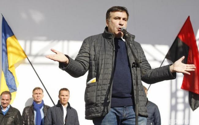 Саакашвили анонсировал начало Майдана с 400 тысяч украинцев