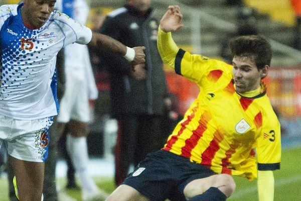 Каталония, за чью сборную выступает Виктор Альварес, начнёт отделение от Испании