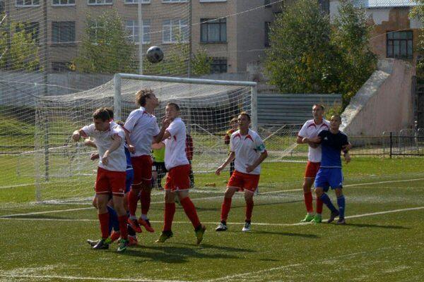 Новомосковский «Химик-2» сыграл вничью с новоусманским «Олимпиком»