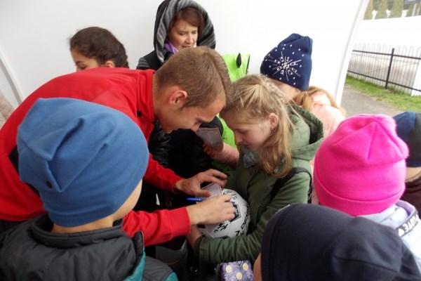 Новомосковские школьники побывали в гостях у «Химика»