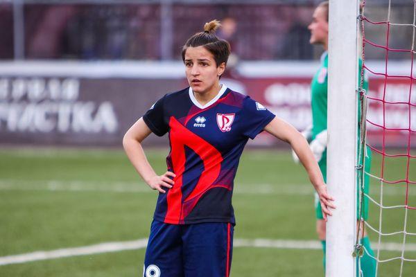 Тульская футболистка дебютировала в Лиге чемпионов