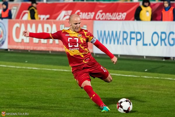 Лукаш Тесак помог «Гомелю» прервать 9-матчевую серию без побед