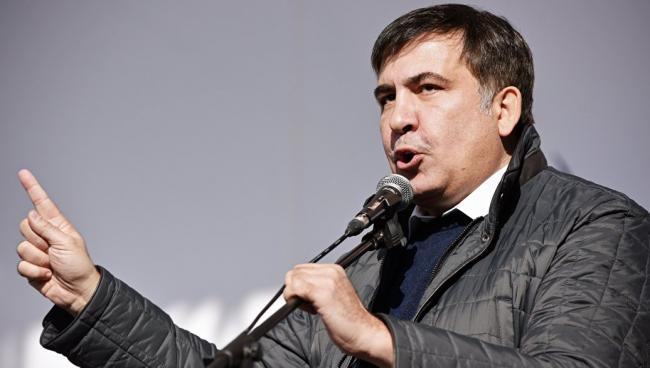 Саакашвили обратился к главе МВД Украины Авакову