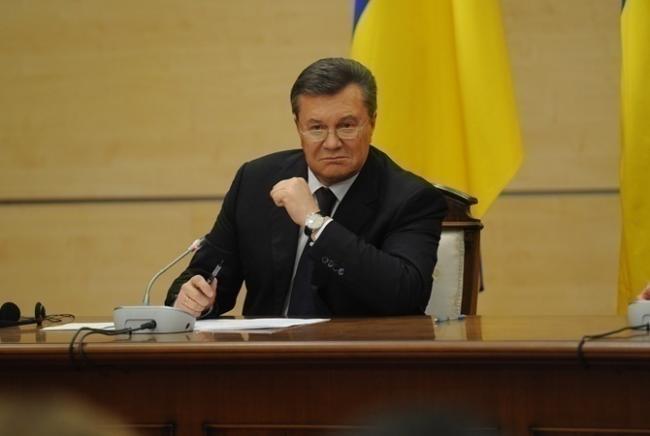 Беглый президент Украины сделал громкое заявление