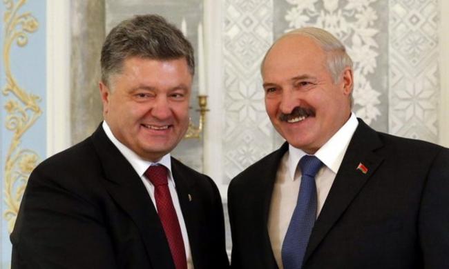 Порошенко встретился с Лукашенко во время визита в ОАЭ