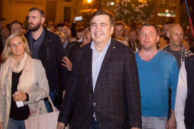 Михаила Саакашвили наказали за приезд в Украину