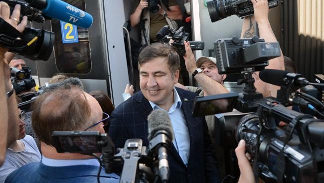 Михаил Саакашвили поделился мнением о государственном перевороте в Украине