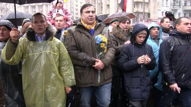 Шок для Банковой: Саакашвили пообещал Новый год без Порошенко