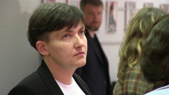 Надежда Савченко прокомментировала идею визового режима с РФ
