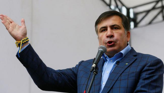 Политические распри: депутат Верховной Рады повздорил с Михаилом Саакашвили (ВИДЕО)