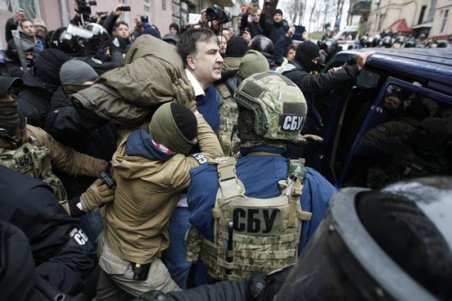 «Финансируется соратником Януковича»: глава фракции «БПП» назвал причину ареста Саакашвили