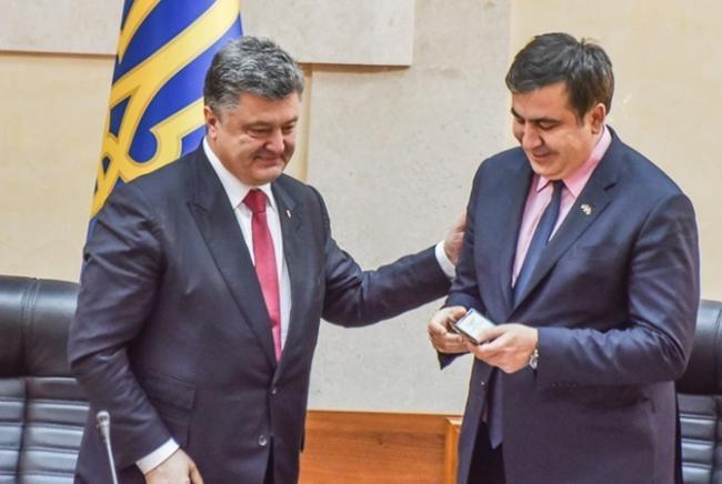 Порошенко считает, что Саакашвили должен понести ответственность за свои действия