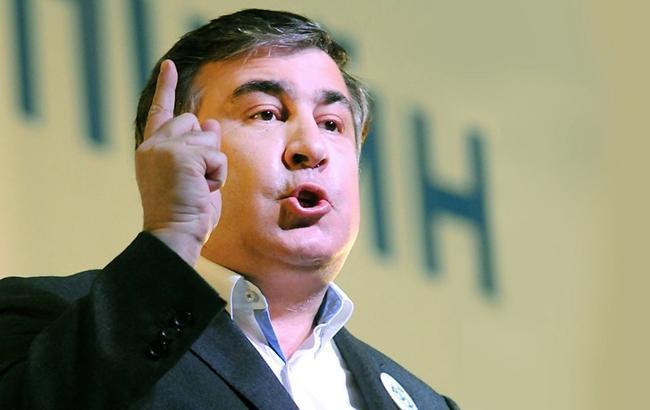 Михаил Саакашвили отменяет акции протеста в Украине